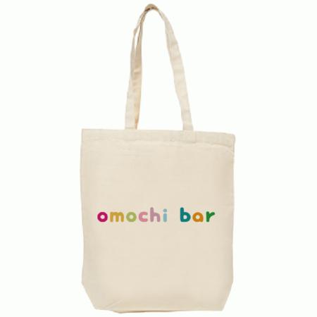 トートバッグ(M)omochibarロゴ